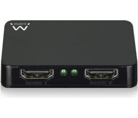 Ewent EW3720 2 portos HDMI 4K elosztó