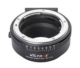 VILTROX Nikon F- Fujifilm X man bajonett átalakító