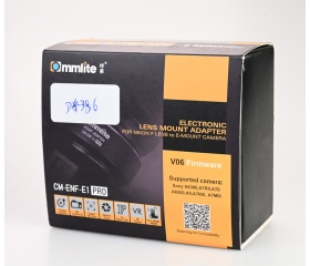 Használt Commilite CM-ENF-E1 PRO adapter Nikon F t