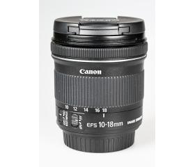 Használt Canon EF-S 10-18mm f/4.5-5.6 IS STM sn:62