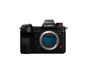 Panasonic DC-S1H fekete fényképezőgép