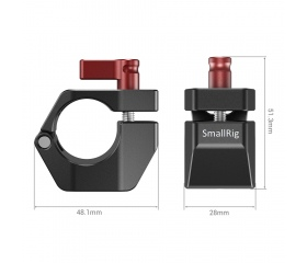 SMALLRIG 25mm Rod Clamp for DJI Ronin M/Ronin MX/F