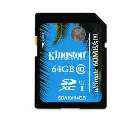 Kingston Class 10 UHS-I Ultimate SD 64GB