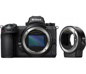Nikon Z7 II + FTZ adapter
