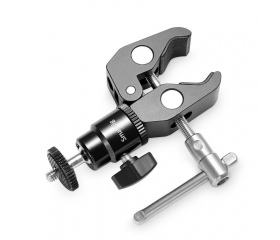 SMALLRIG Clamp Mount V1 w/ Ball Head Mount and Coo