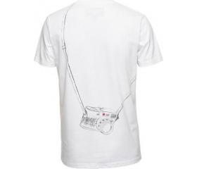 Cooph férfi póló Leicographer fehér L
