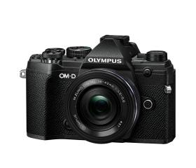 Olympus E-M5III 1442EZ Pancake Zoom Kit fekete