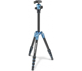 Manfrotto Element Traveler kis kék + gömbfej