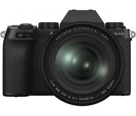 Fujifilm X-S10 XF16-80mm fekete kit