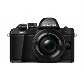 Olympus E-M10 Mark II + 14-42mm IIR Kit Fekete