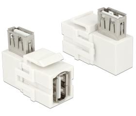 Delock USB2.0-A anya > USB2.0-A anya 90° el