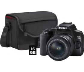 Canon EOS 250D + EF-S 18-55mm + táska kit