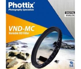 Phottix változtatható VND-MC szűrő 49mm