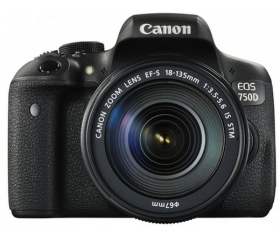 Canon EOS 750D + 18-135mm IS STM kit