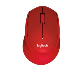 Logitech M330 Silent Plus Wireless piros