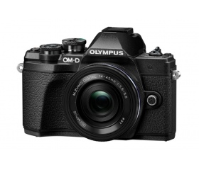 OLYMPUS E-M10III fekete Kit (14-42mm + 40-150mm)