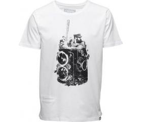 Cooph férfi póló Fidelball fényes fehér M