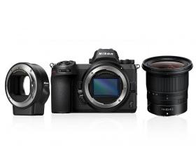 Nikon Z7 + 14-30 f/4 + FTZ Adapter kit