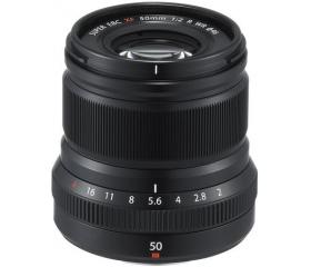 Fujifilm Fujinon XF50mmF2 R WR fekete