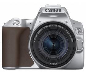 Canon EOS 250D + EF-S 18-55mm kit ezüst