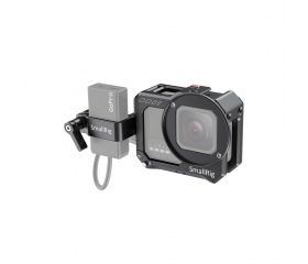 SMALLRIG Vlogging Cage and Mic Adapter Holder for