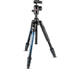 Manfrotto Befree Adv Alu twist kék kit gömbfej