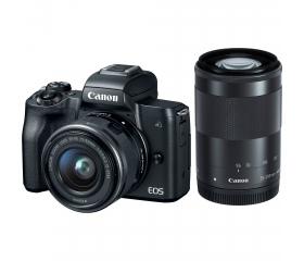 CANON EOS M50 + EF-M 15-45mm + EF-M 55-200mm Kit f