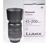 Használt PANASONIC Lumix G 45-200mm f/4-5,6 s/n:XT