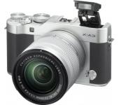 Bontott Fujifilm X-A3 + 16-50mm ezüst kit