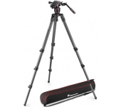 Manfrotto Nitrotech 608 videofej + 536 magas CF