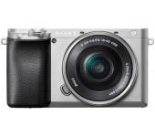 Sony α6100 16-50mm ezüst kit