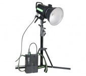 Phottix Indra 500LC TTL Studio Light and Battery P