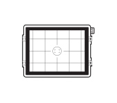 Hasselblad Focusing Screen 60 MP CCD Grid / 100 MP