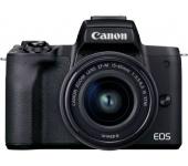 Canon EOS M50 Mark II + EF-M 15-45mm Kit fekete
