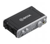 Boya by-AM1 Két csatornás USB audio mixer / konver