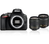Nikon D5600 AF-P DX 18-55 VR + AF-S DX 35mm f/1.8