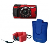 Olympus TG-6 holiday kit piros