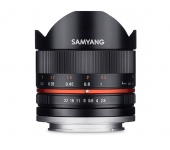 SAMYANG 8mm Fisheye F2,8 II Canon M black