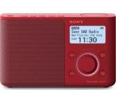 Sony XDR-S61D DAB/DAB+ piros