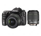 Pentax K-50 Fekete + DAL 18-55WR + DAL 50-200WR