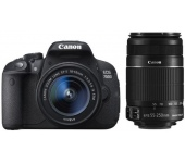 Canon EOS 700D + 18-55mm + 55-250mm IS STM kit