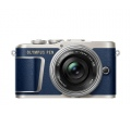 OLYMPUS E-PL9 Pancake Zoom Kit kék
