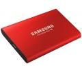 Samsung T5 500GB USB3.1 külső SSD metálpiros