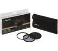 Polaroid szűrőszett (UV, CPL, ND8) 52mm + tok