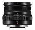 Fujifilm XF16mm F/2.8 R WR Fekete objektív