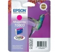 Epson Singlepack Magenta T0803 Claria Photographic