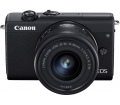 Canon EOS M200 + 15-45mm kit fekete