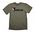 "Uncharted 4 T-Shirt ""Shoreline (Army)"", XXL"