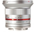 Samyang 12mm / f2.0 NCS CS (Olympus MFT) Ezüst
