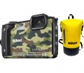 Nikon COOLPIX W300 Holiday Kit terepszínű